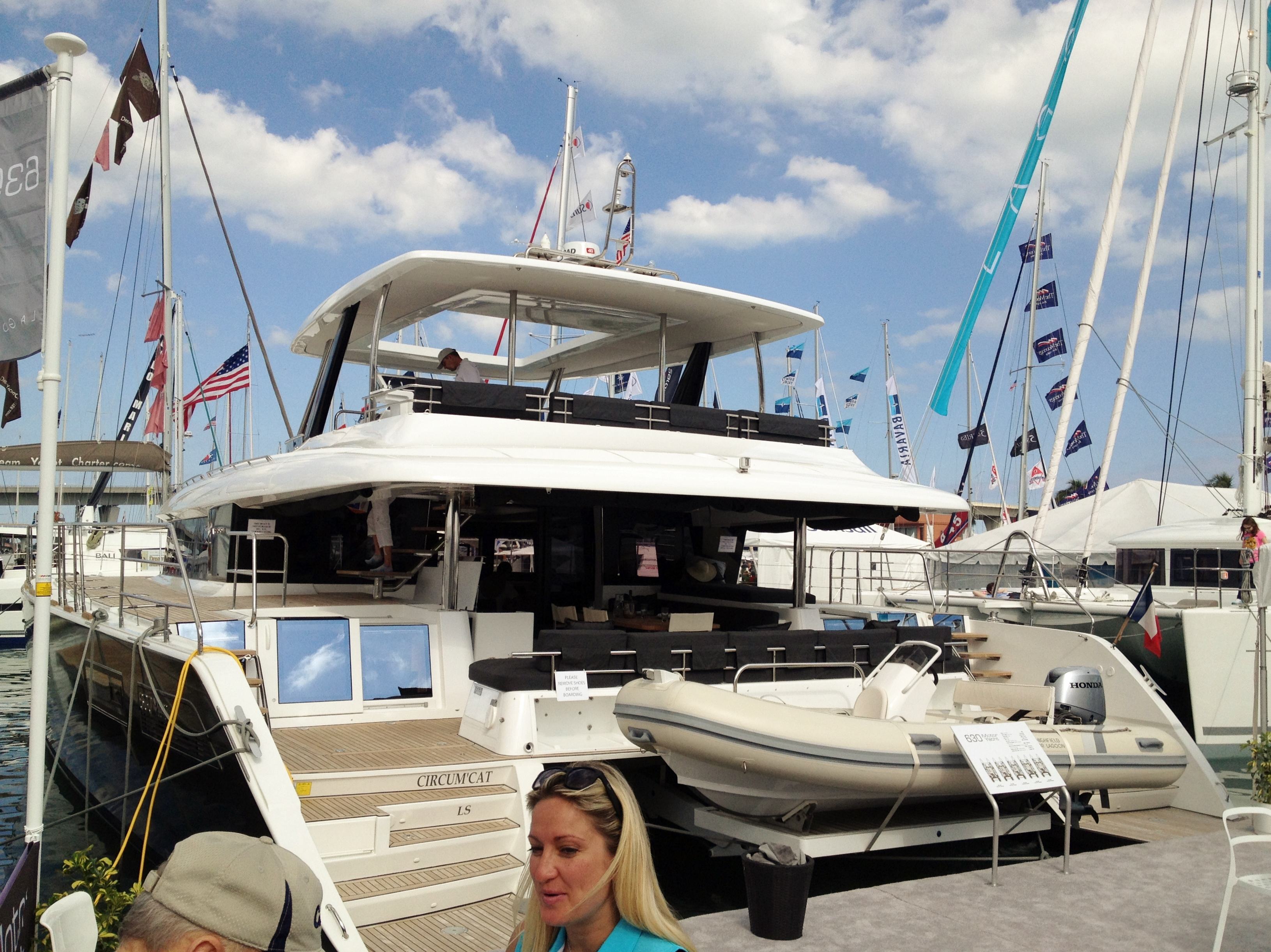 Catamaran Dreams At The Miami Boat Show The Sailing Rode