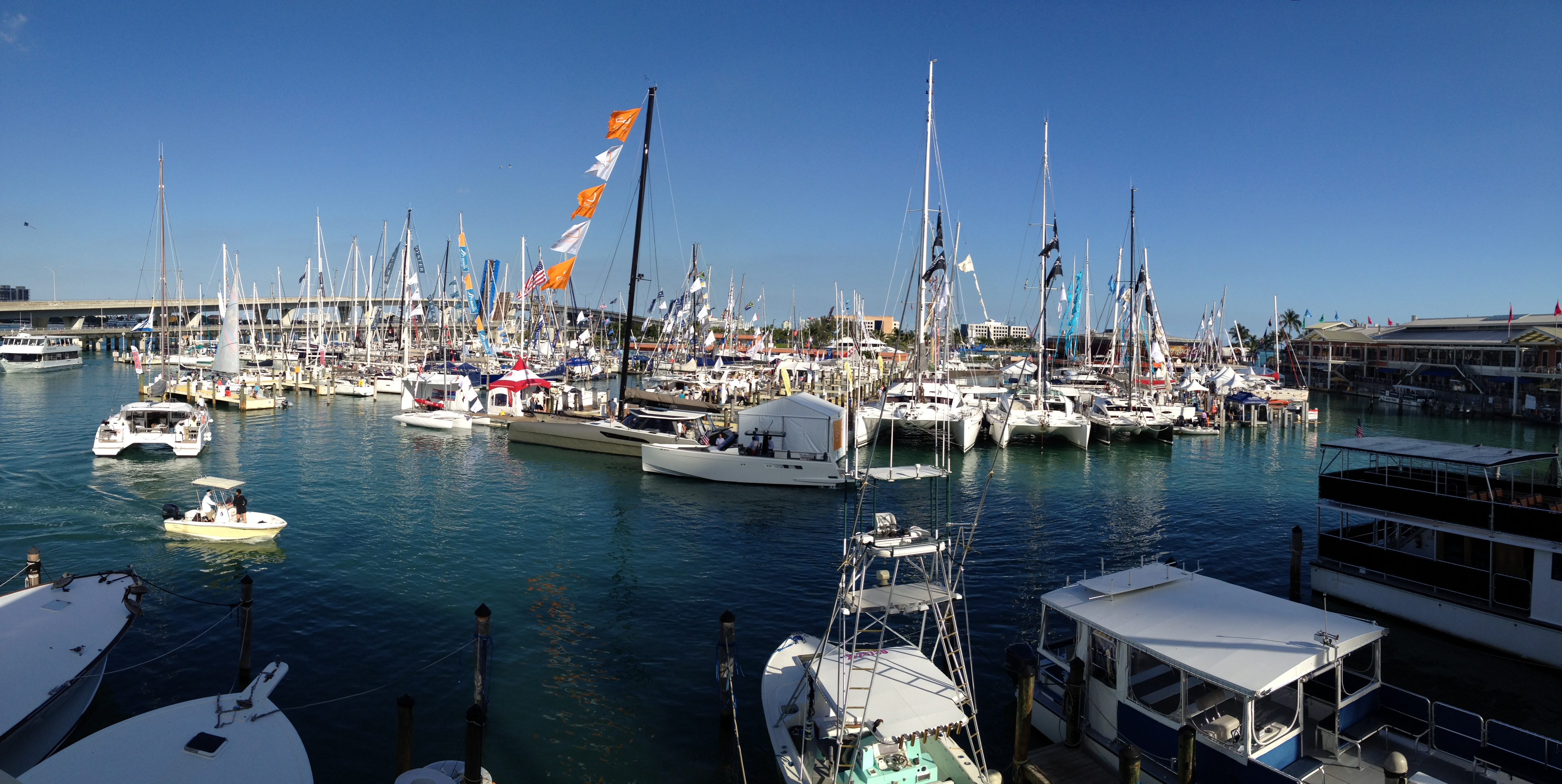 Hookey day at the miami boat show the sailing rode - Miami boat show ...