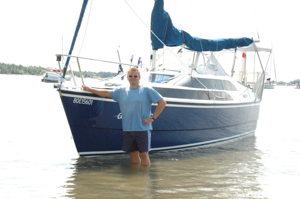 Ed Radonic and their Macgregor 26M